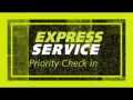 GOLDCAR rental: Express Service, pick up your car in 5 minutes